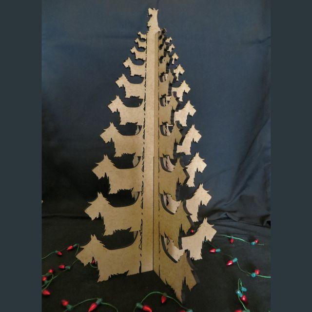 4 Leaf Scottie Christmas Tree